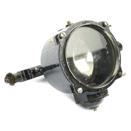 Original British WWII Royal Navy Ship's 6-Inch Signalling Lantern