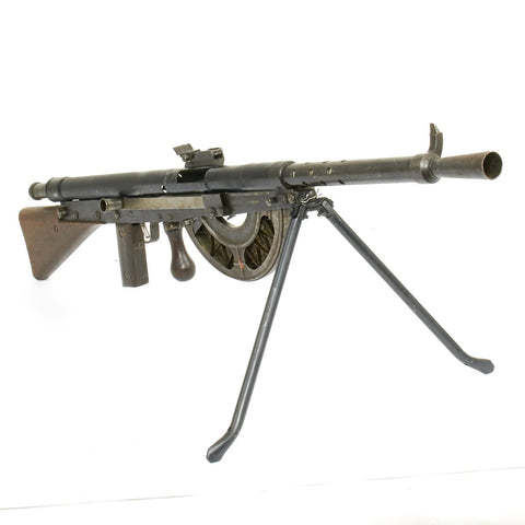 Original French WWI Fusil-Mitrailleur Modele 1915 CSRG Chauchat Display Light Machine Gun with Magazine