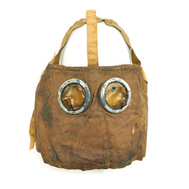 Original French WWI M2 Gas Mask Dated 1917
