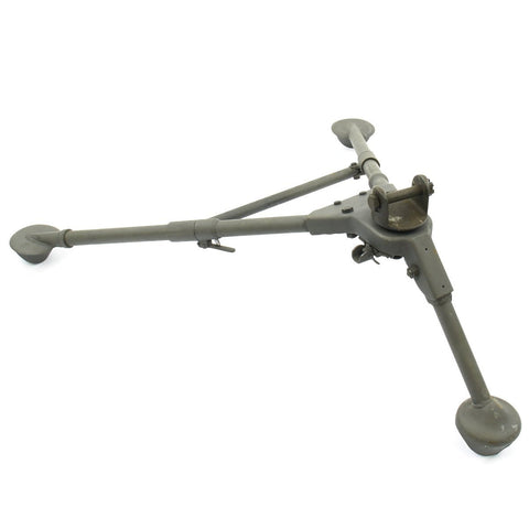 Original U.S. WWII Mount Tripod Cal .30 M2 Dated 1944 with Pintle - Browning M1919A4 Original Items