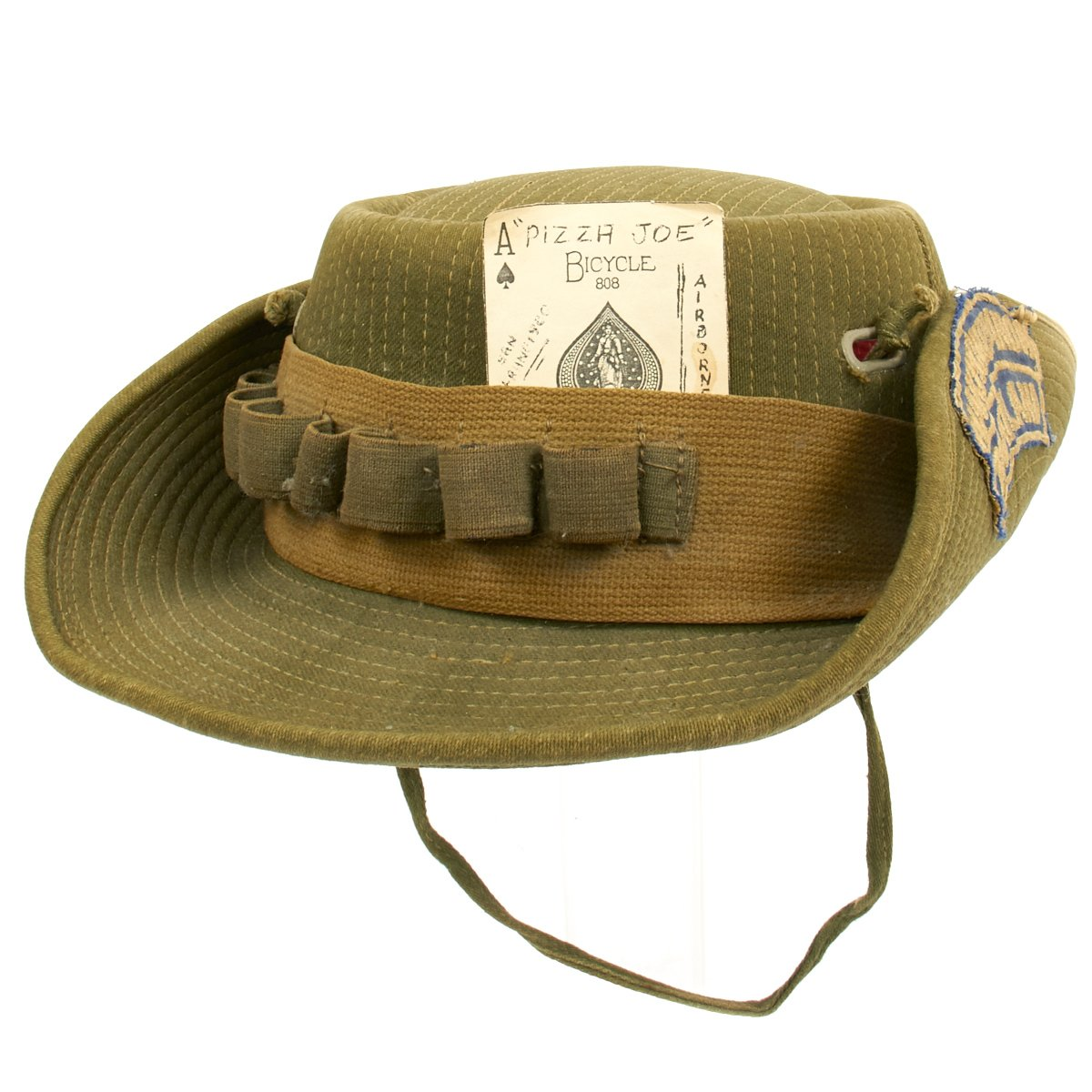 0b4ec9cea60 Original U.S. Vietnam War Slouch Boonie Hat with Rocker Patch - Nakhon  Phanom Thailand