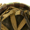 show larger image of product view 10 : Original U.S. WWII 1944 M1 Schlueter Swivel Bale Helmet with Westinghouse Liner and Korean War USMC Cover Original Items