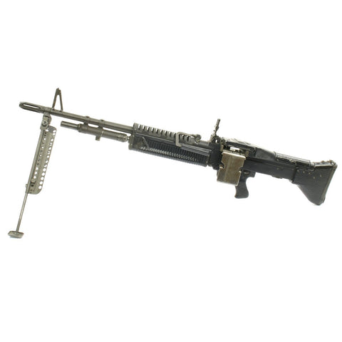 Original U.S. Vietnam War M60 Display Machine Gun - Built from Original Parts Original Items