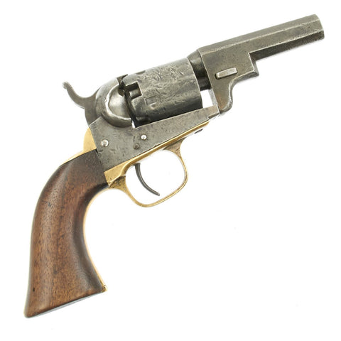 "Original U.S. Civil War Colt M1849 ""Wells Fargo"" Pocket Percussion Revolver made in 1860 - Serial 164038 Original Items"