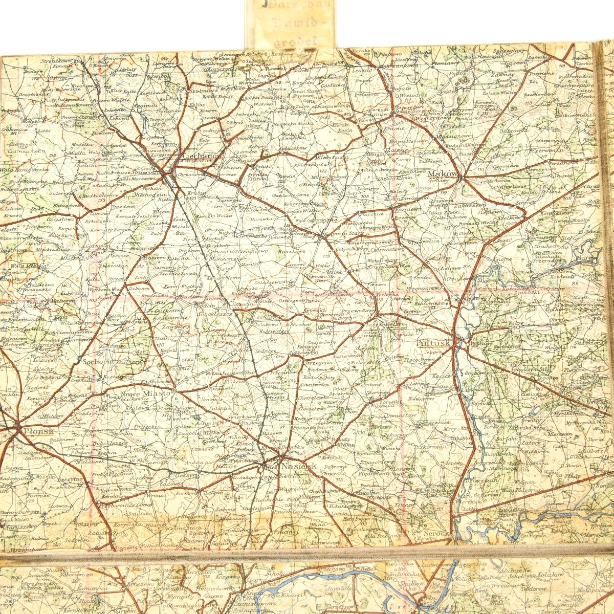 Map Of Germany Wwii.Original German Wwii Luftwaffe Navigator Maps Of Poland And Germany