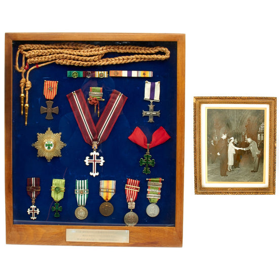 Original Portuguese WWI Medals of Colonel Manuel Madruga MC