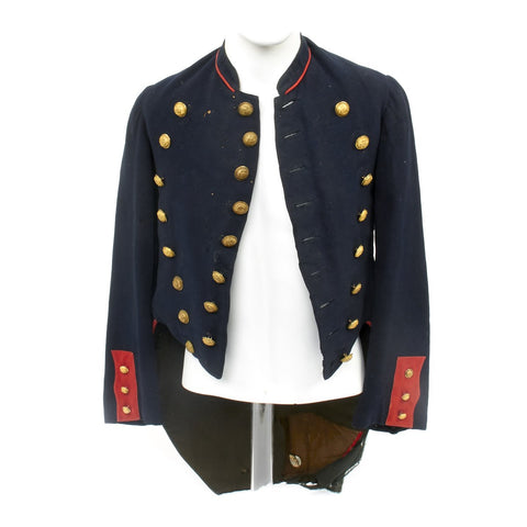 Original Civil War Union Artillery State of New York Militia Dress Coat with Scovill Buttons