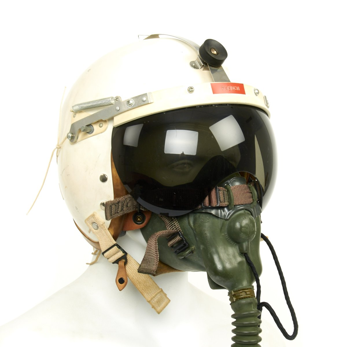 95c46c58ba Prev · Original U.S. Cold War Named USAF Helmet Flying Type P-4B with Oxygen  Mask and. Tap to expand