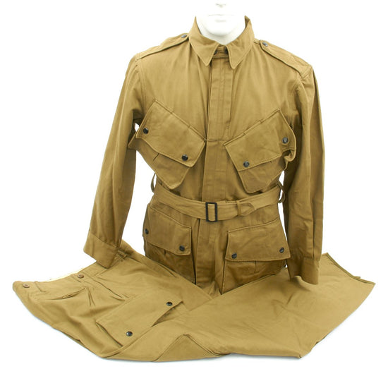 Original U.S. WWII Unissued M1942 Paratrooper M42 Jump Jacket and Pants