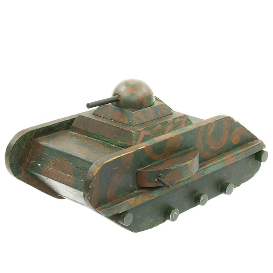 Original German WWII POW Made Model Tank