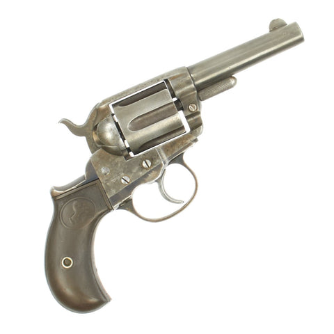 Original U.S. Colt M-1877 .38cal Lightning Revolver with 3 1/2 Inch Barrel made in 1890 - Serial 74582 Original Items