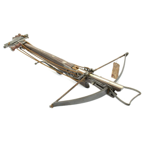Original German 1740 Crossbow with Winding Windlass from Sigmaringen Castle Original Items