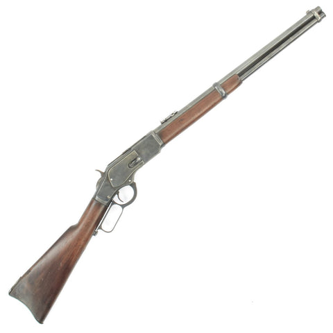 Original U.S. Winchester Model 1873 .44-40 Saddle Ring Carbine Serial Number 296234B - Made in 1889 Original Items