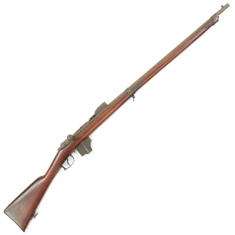 Original Dutch Beaumont-Vitali M1871/88 Bolt Action Magazine Conversion Rifle - Dated 1874 Original Items