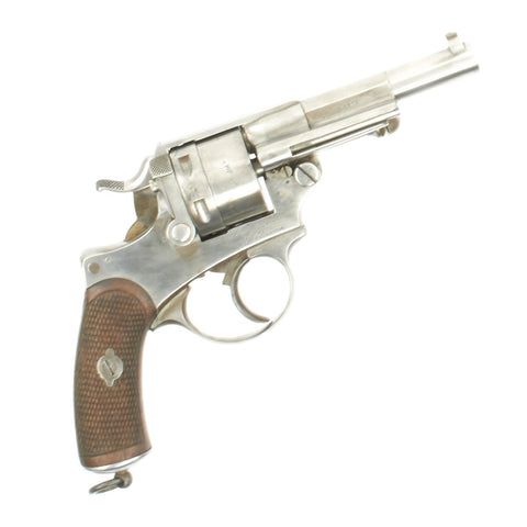 Original French Model MAS Model 1873 11mm Revolver Dated 1876 - Serial Number G23665