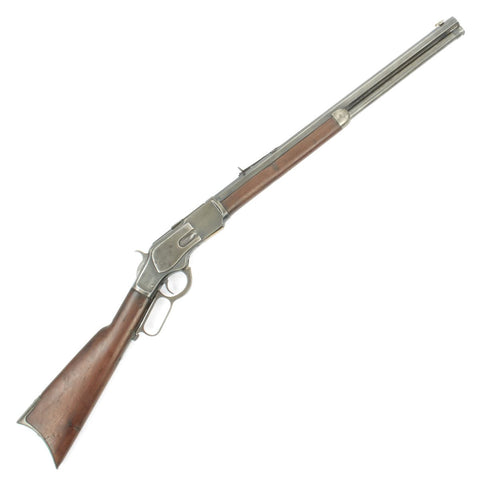 Original U.S. Winchester Model 1873 .44-40 Rifle with 21 inch Octagonal Barrel - Made in 1886 Original Items