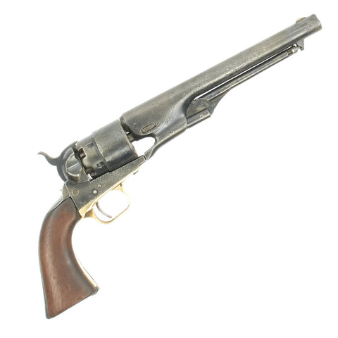 Original U.S. Civil War Colt Model 1860 Army Percussion Revolver made in 1862 - Serial No 77709