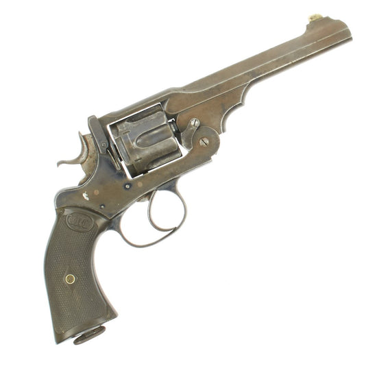 "Original British Victorian Webley ""WG"" Army Model 1896 Antique Revolver sold by Wilkinson Sword - Serial 15842"