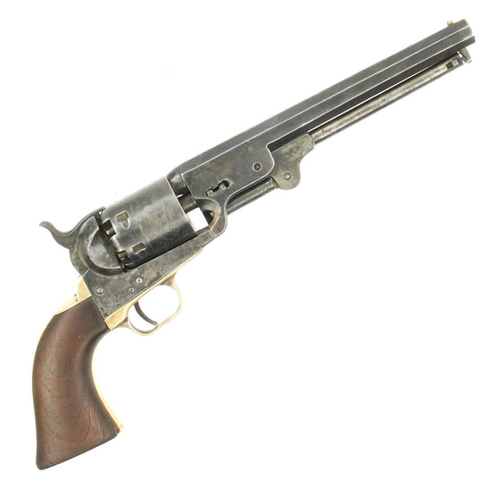 Original U.S. Civil War Colt 1851 Navy Revolver with Cylinder Scene Linked to Illinois Cavalry - Serial No 43561