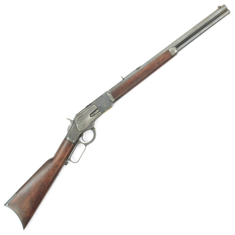 Original U.S. Winchester Model 1873 .44-40 Rifle with 20 inch Octagonal Barrel - Made in 1888 Original Items