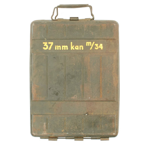Original WWII German 1940-Dated Ammunition Can for Captured Bofors 37mm Anti-Tank Gun