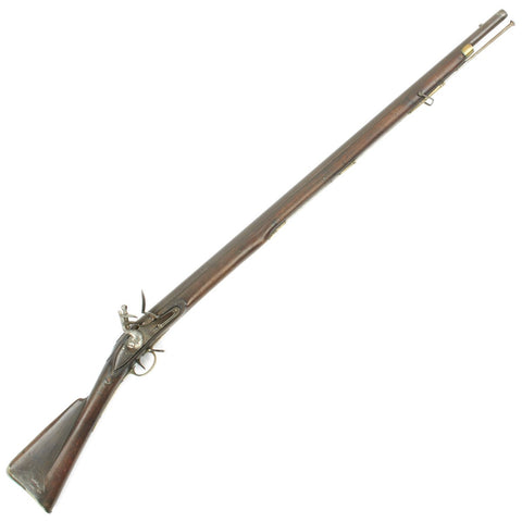 Original British Napoleonic Third Model Brown Bess Flintlock Musket Marked to the 44th East Essex Regiment of Foot Original Items