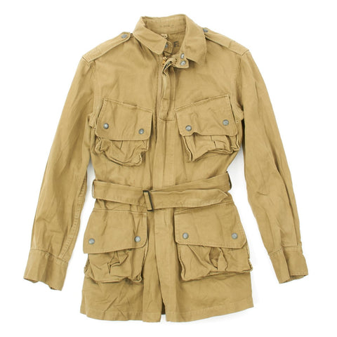 Original U.S. WWII M1942 Paratrooper Jump Jacket without Reinforcements in Size 36 R Original Items