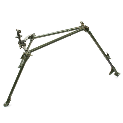 Original British WWII Bren LMG Tripod dated 1941 by Australia General Electric with Rare Anti-Aircraft Leg