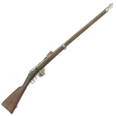 Original Dutch Beaumont-Vitali M1871/88 Bolt Action Magazine Conversion Rifle - Dated 1878 Original Items