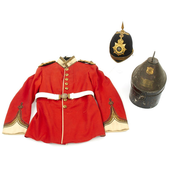 Original British Pre-WWI Named Officer Uniform Set - 2nd Lt. Dennys - East Surrey Regiment Original Items