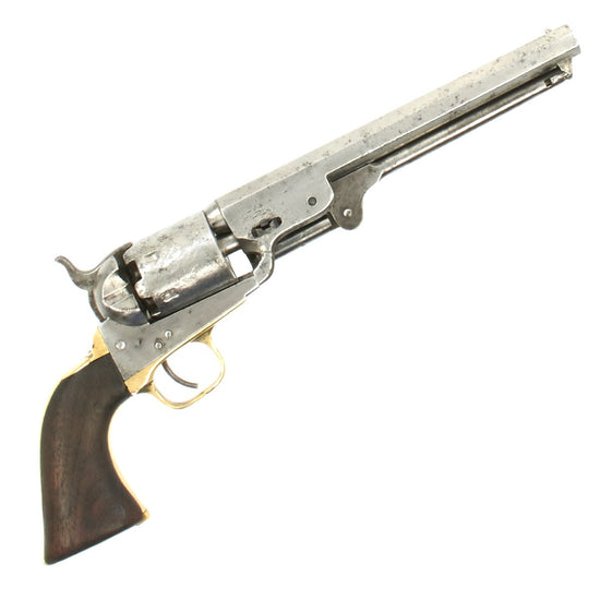 Original London Colt Model 1851 Private Purchase Navy Revolver Made in 1866 - Serial 197427