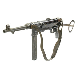 Original German WWII 1942 Dated MP 40 Display Gun by Steyr with Original Sling - Maschinenpistole 40
