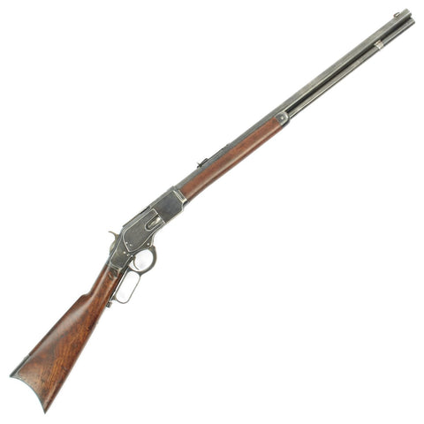 Original U.S. Winchester Model 1873 .44-40 Round Barrel Rifle with Factory Record Letter - made in 1880 Original Items