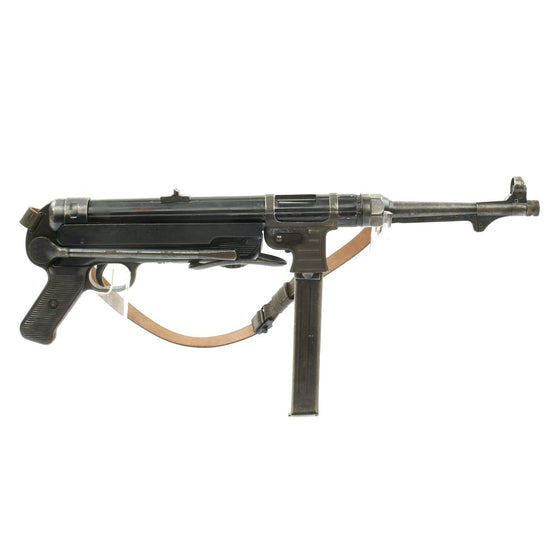 Original German WWII 1942 Dated MP 40 Display Gun by ERMA - Maschinenpistole 40