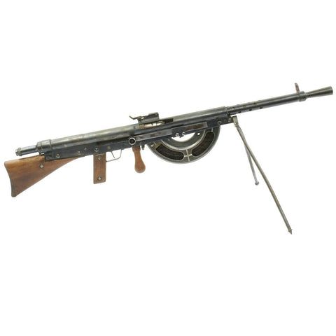 Original French WWI Fusil-Mitrailleur Modele 1915 CSRG Chauchat Display Light Machine Gun with Magazine - Matching Serial No. 63628 Original Items