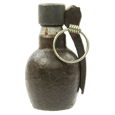 Original French WWII DF 37 Hand Grenade with Mle 1935 Fuze - Inert