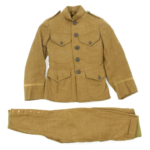 Original U.S. WWI Army Officer Child Uniform - Dated 1918 Original Items
