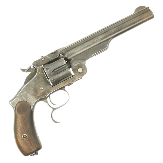Original Smith & Wesson 1871 Russian Contract Model 3 Revolver in .44 Russian - Dated 1874