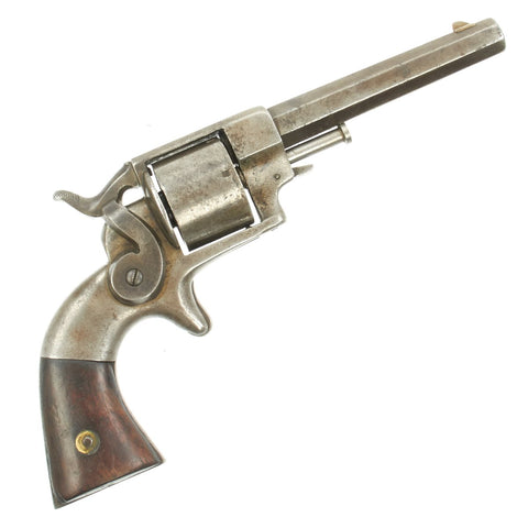 Original U.S. Civil War Allen & Wheelock .32cal Rimfire Revolver named to Lt. Isaac Potter of 3rd. R.I. Original Items