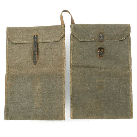 Original German WWII Grenade Carry Bags - Dated 1942