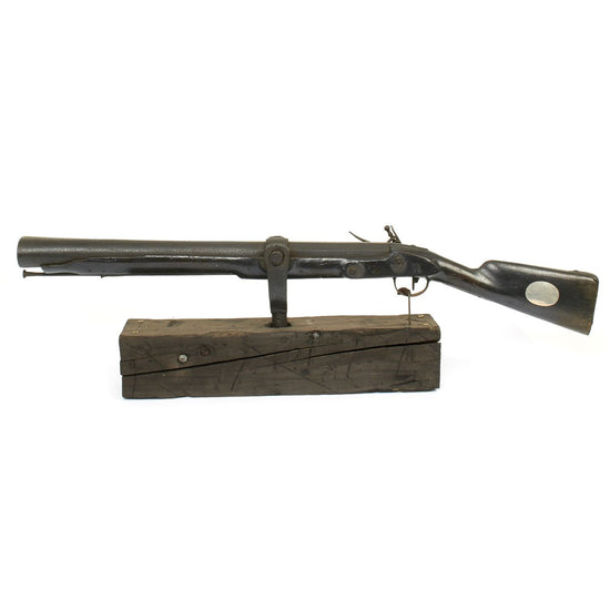 Original French Napoleonic Swivel Blunderbuss Captured by HMS Alacrity in 1807 from the French Ship Friedland
