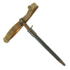 show larger image of product view 3 : Original U.S. WWI M1917 Enfield Bayonet with Belt & Frog Reissued for WWII British Home Guard Original Items