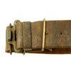 show larger image of product view 13 : Original U.S. WWI M1917 Enfield Bayonet with Belt & Frog Reissued for WWII British Home Guard Original Items