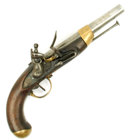 Original French Napoleonic St. Etienne Flintlock Dragoon Pistol circa 1805 Original Items