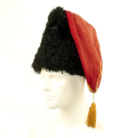 Original WWII Cossack WWII Model 1910 Papakha Fur Hat