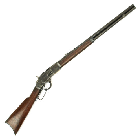 Original U.S. Winchester Model 1873 .38-40 Rifle with Round Barrel - Manufactured in 1890