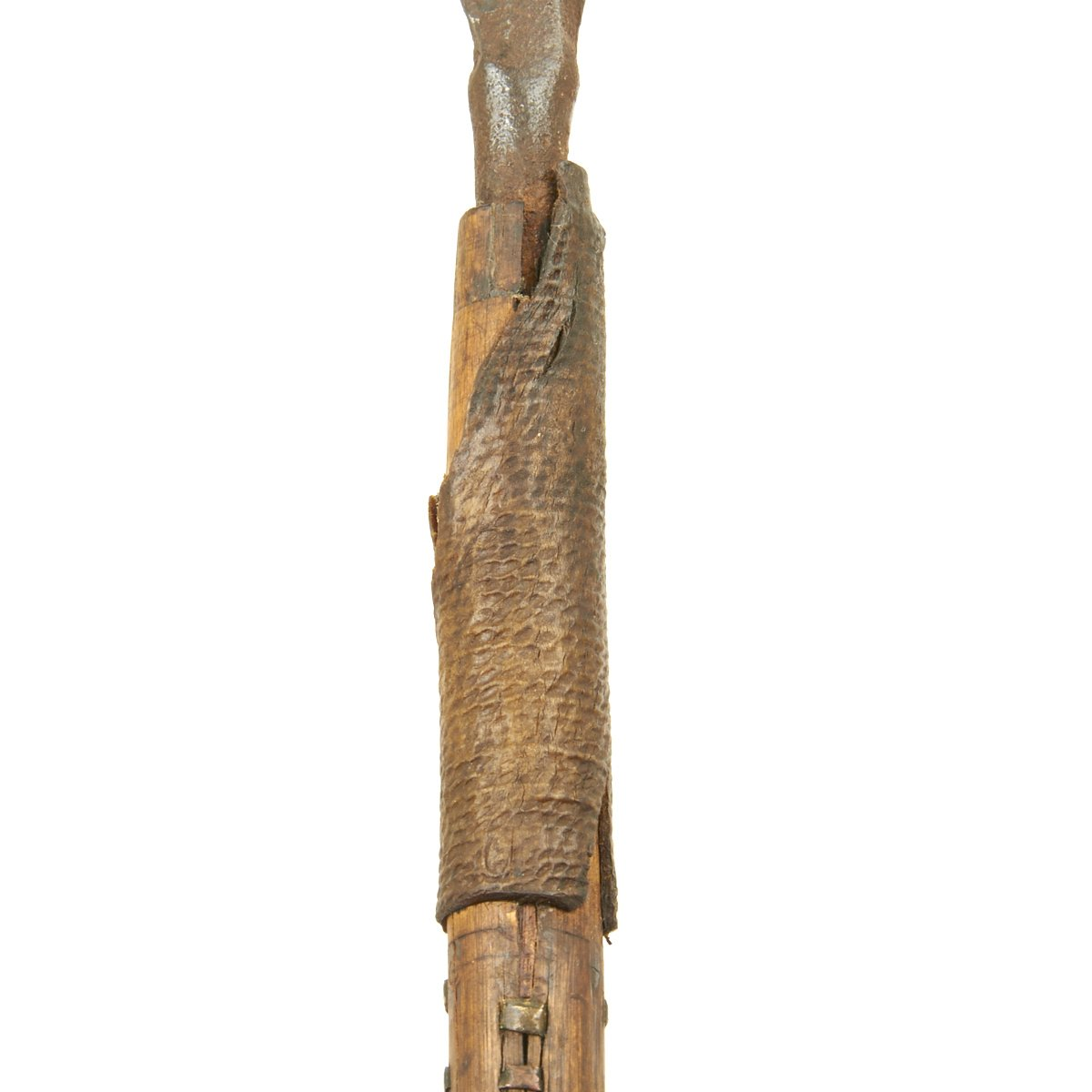 Original Early Zulu Assegai Fighting Spear with Massive