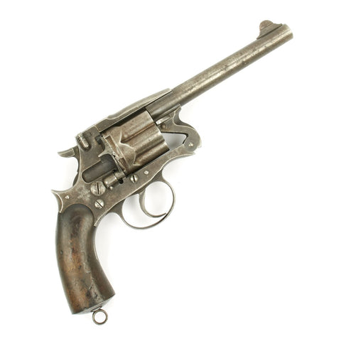 Original British Victorian Enfield MkII Model 1881 Service Revolver in .476 Enfield - Dated 1884