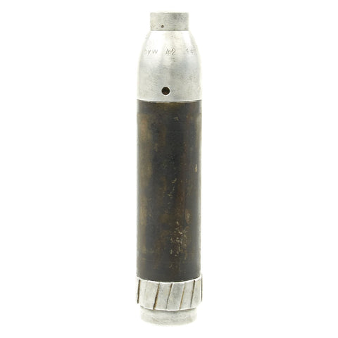 Original German WWII 98k Aluminum Rifle Anti-Personnel Grenade Round - Inert