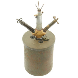 Original WWII German 1941 Bouncing Betty S-Mine by HAGENUK with Rare Triple Fuse Elbow and Shrapnel
